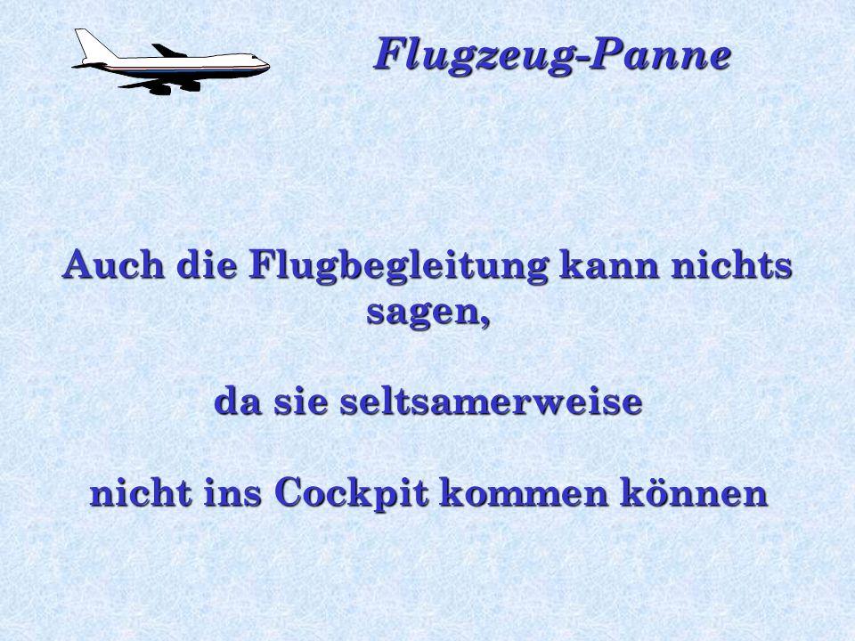 Flugzeug-Panne Danach ist Stille. Die Passagiere schauen sich angsterfüllt an. Was ist wohl passiert?... Aufkommendes blankes Entsetzen macht sich bre
