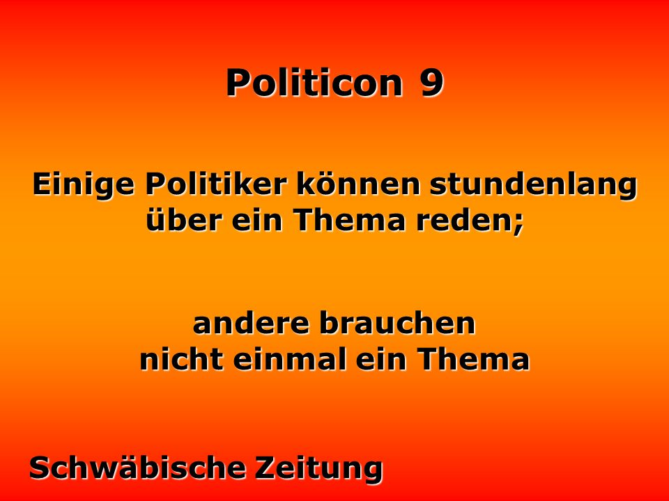 Politicon 9 Die Justiz ist gezwungen, ein Vakuum auszufüllen, das die Politiker allzuoft leer lassen.