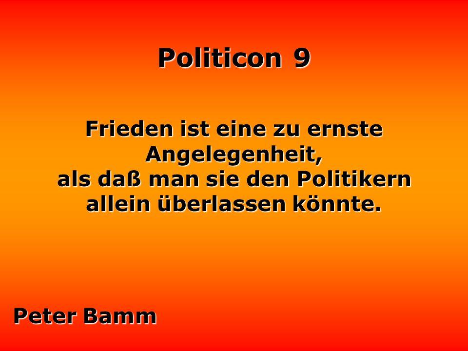 Politicon 9 Es gibt eine sichere Methode herauszufinden, wann Politiker nicht die Wahrheit sagen: wenn sich ihre Lippen bewegen.
