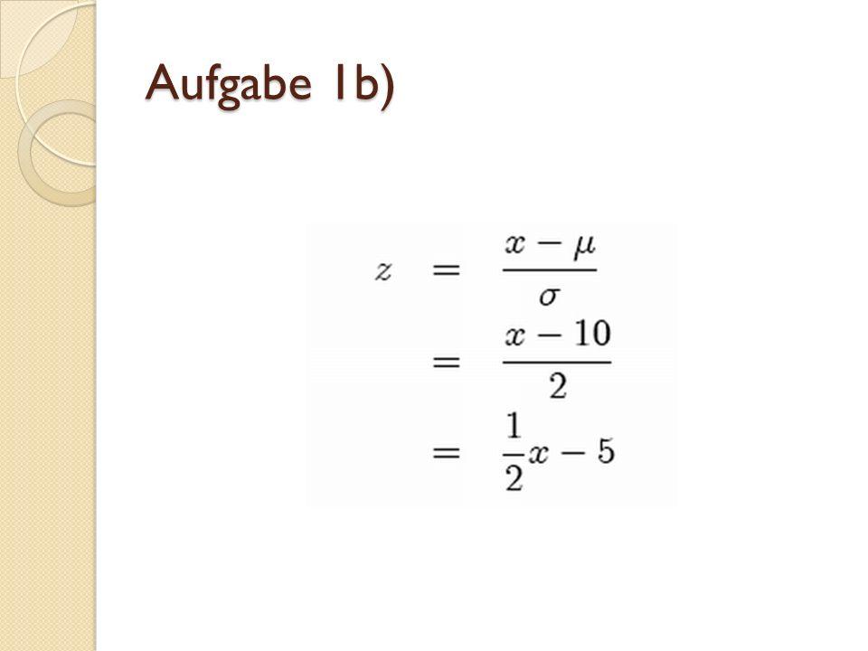 Ergebnisse zu den Werten aus a) z(12.5)=1.25 z(8.7)= 0.65 z(1)=5 z(10.89)=0.445