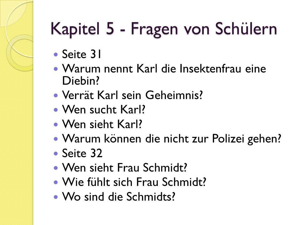 Die Reise seines Lebens Fragen zum Text (Kapitel 5) 1.