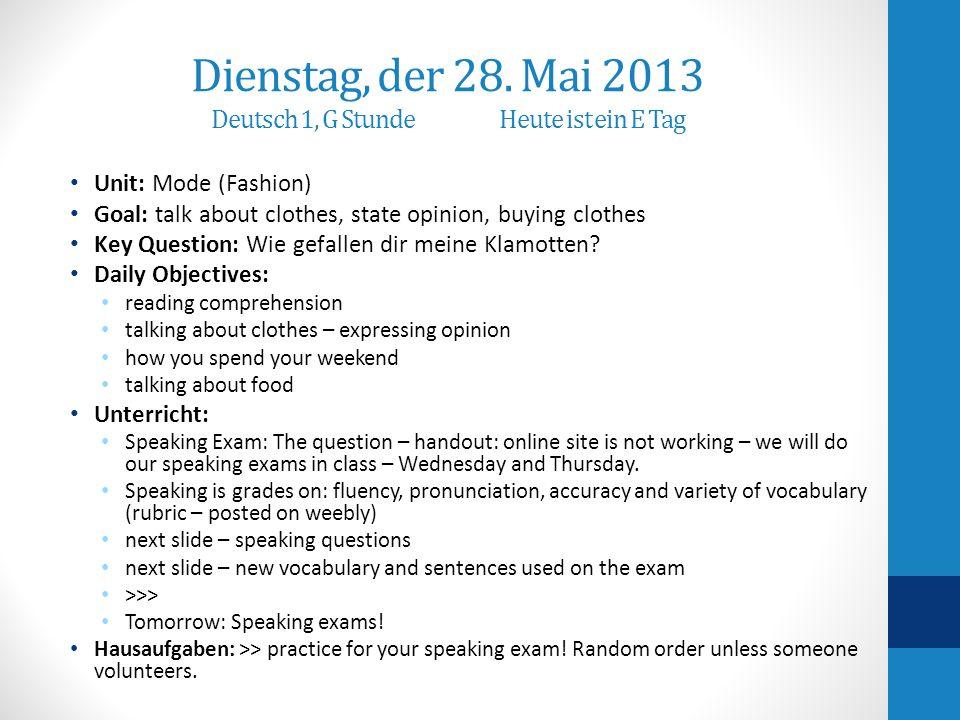 Präsentation Teil 3 – in the store asking for supplies A: Wo sind die Taschenrechner.