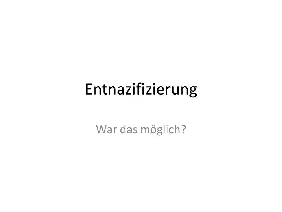 A. Der Nürnberger Prozess 1945/1946