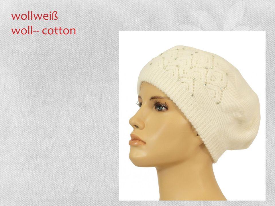 wollweiß woll-- cotton