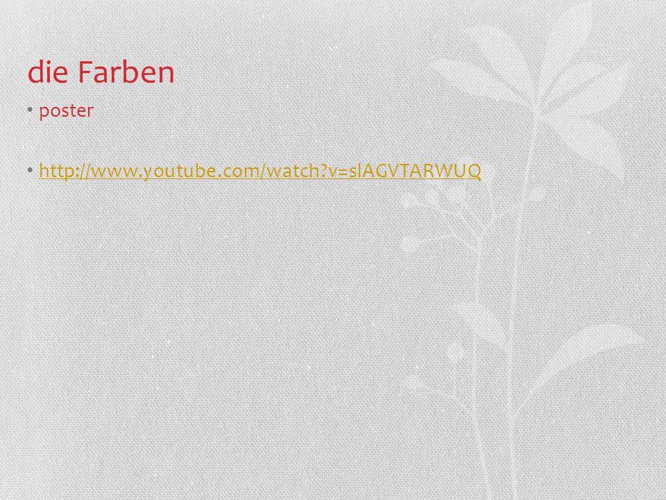 die Farben poster http://www.youtube.com/watch v=slAGVTARWUQ