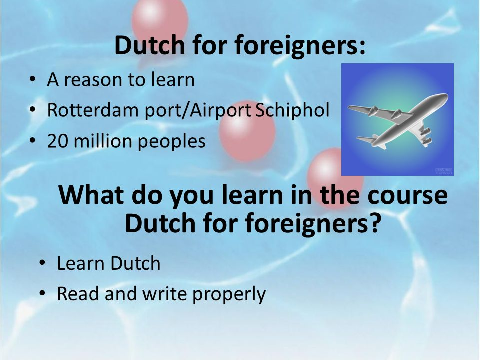 Rick: How is the Dutch labor people recruited to work abroad?