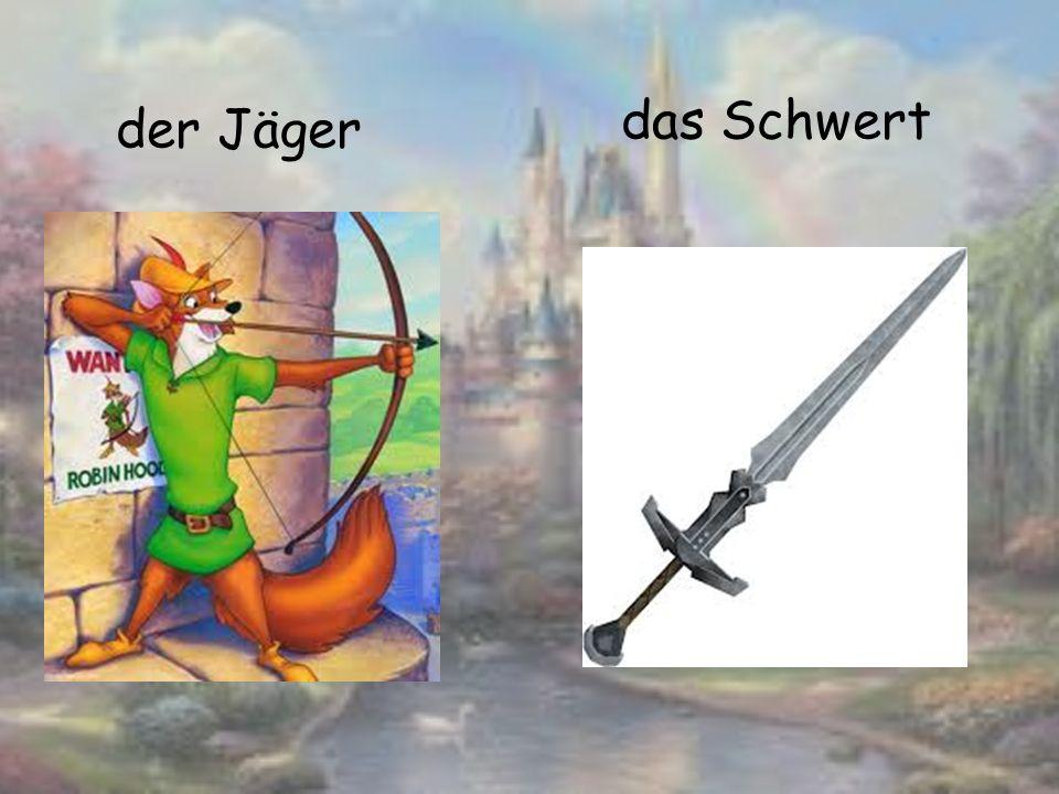 der Jäger das Schwert