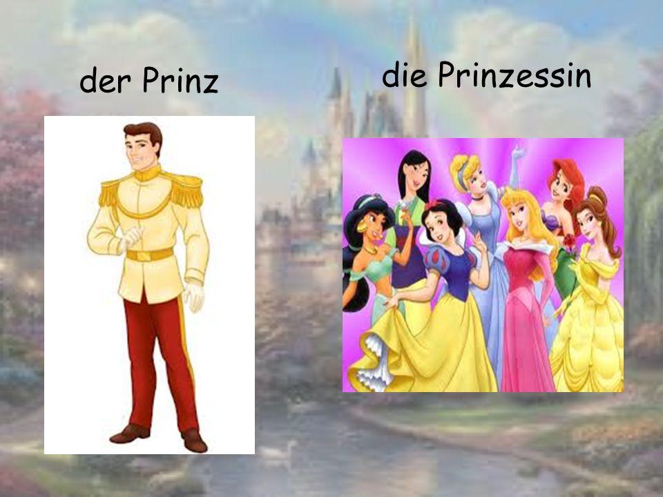 der Prinz die Prinzessin