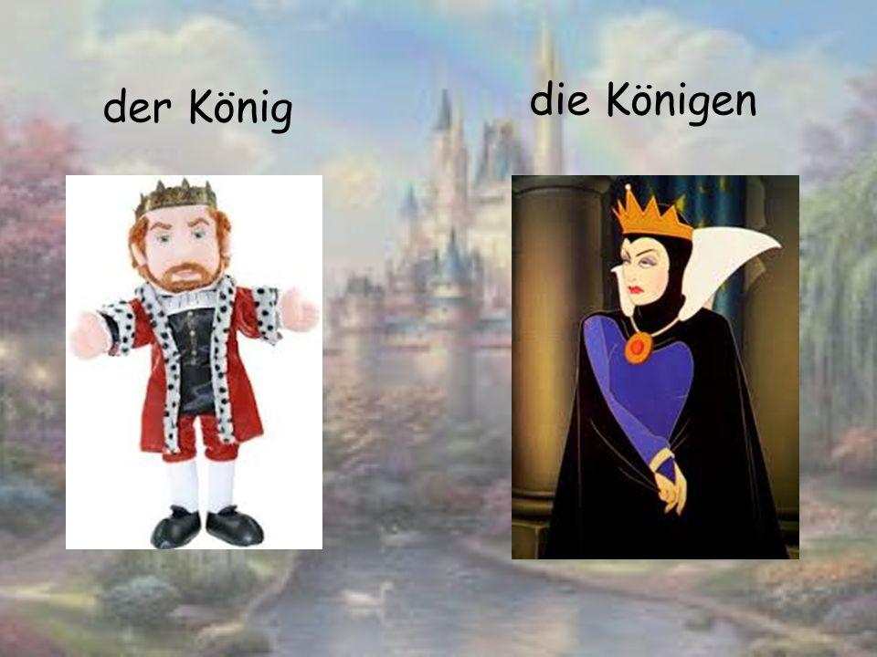 der König die Königen