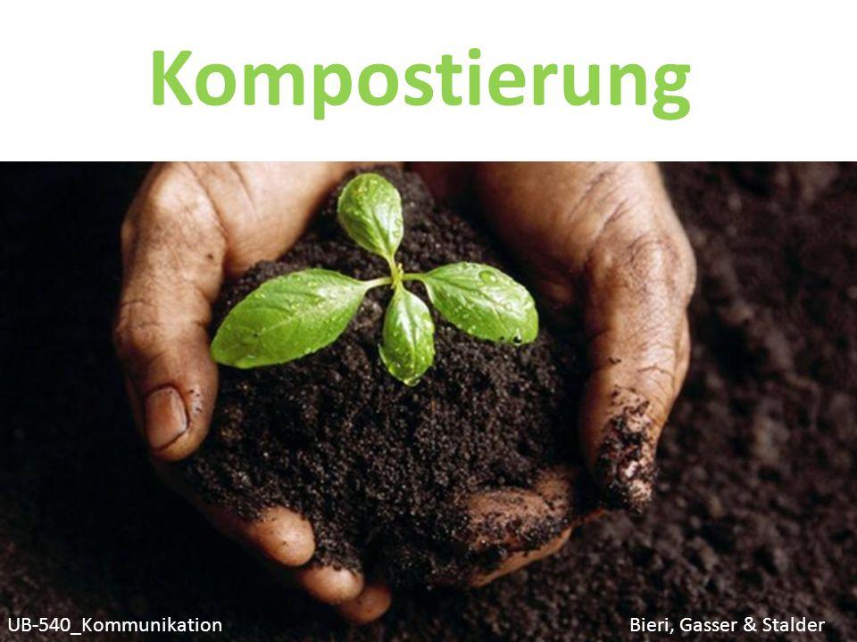 Wiso kann zur Unterstützung des Rotteprozesses und für die Qualität des Kompostes regelmässiges Auflockern notwendig sein?