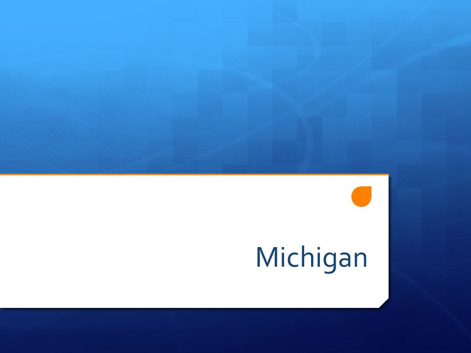 Mein Staat heißt Michigan.Michigan ist ein Staat in den Vereinigten Staaten von Amerika.