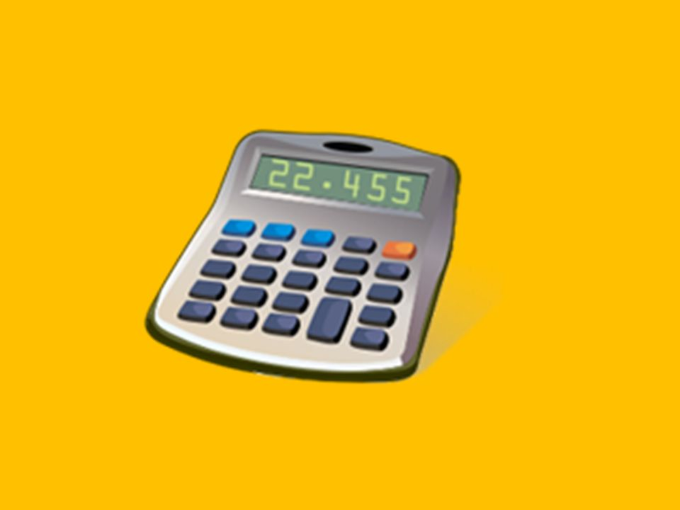 Do you have a calculator?