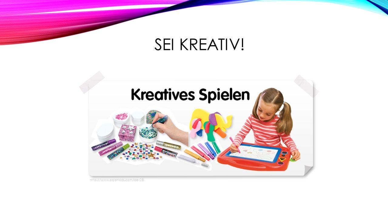 SEI KREATIV! http://www.color-kids.com/de-DE