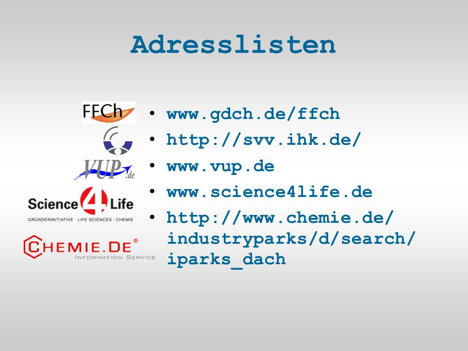 Adresslisten industryparks/d/search/ iparks_dach