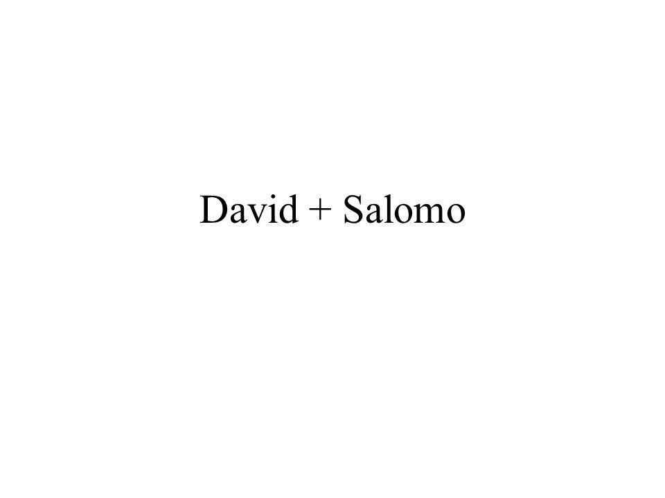 David + Salomo