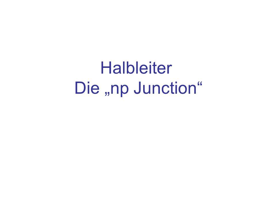 Halbleiter Die np Junction