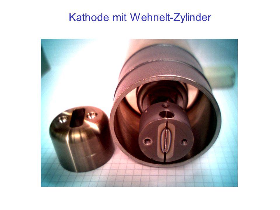 Kathode mit Wehnelt-Zylinder