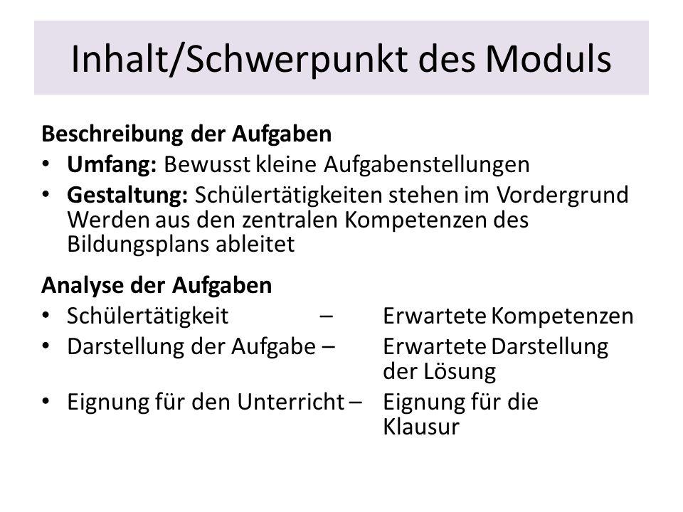 Verbindung zum Musteraufgabensatz Abitur 2013