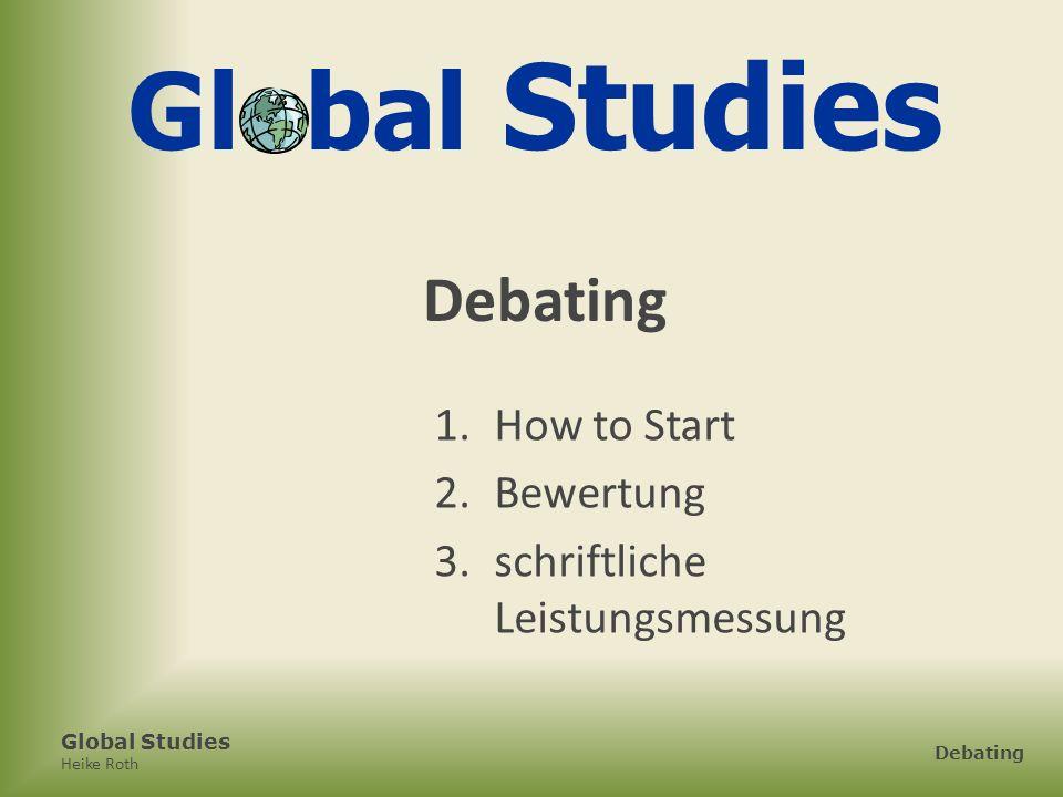 Heike Roth Debating 1.