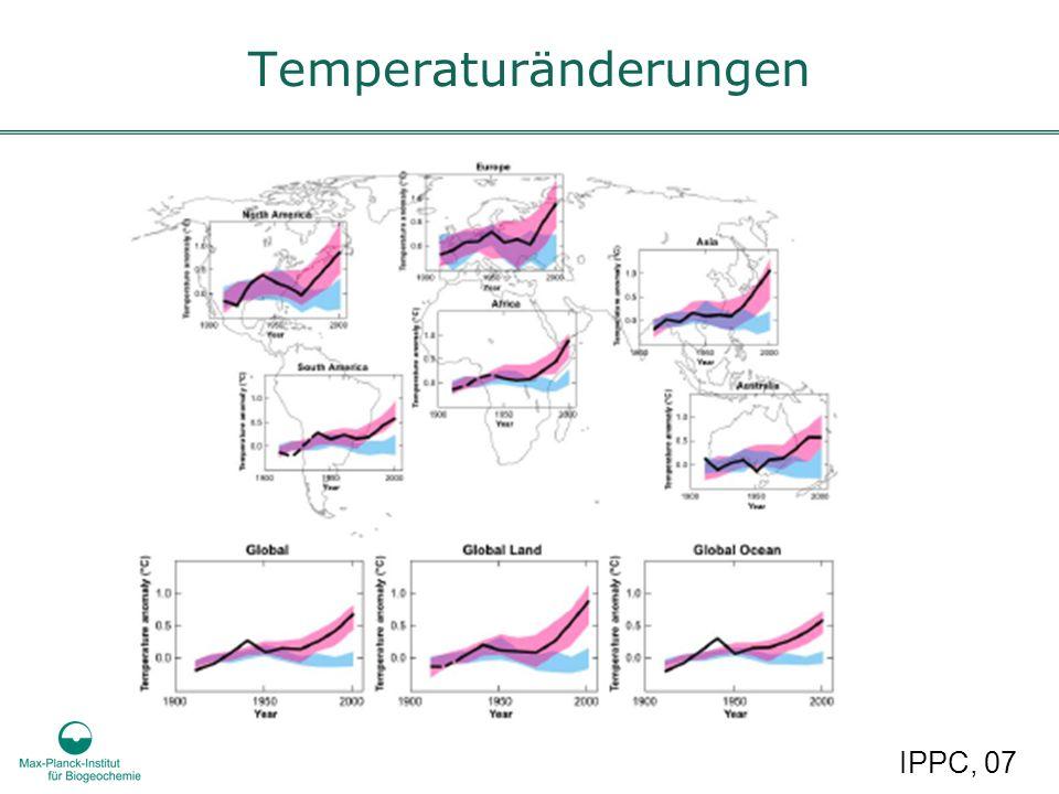 Temperaturänderungen IPPC, 07