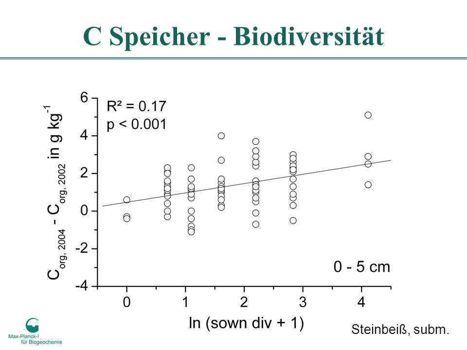 C Speicher - Biodiversität Steinbeiß, subm.