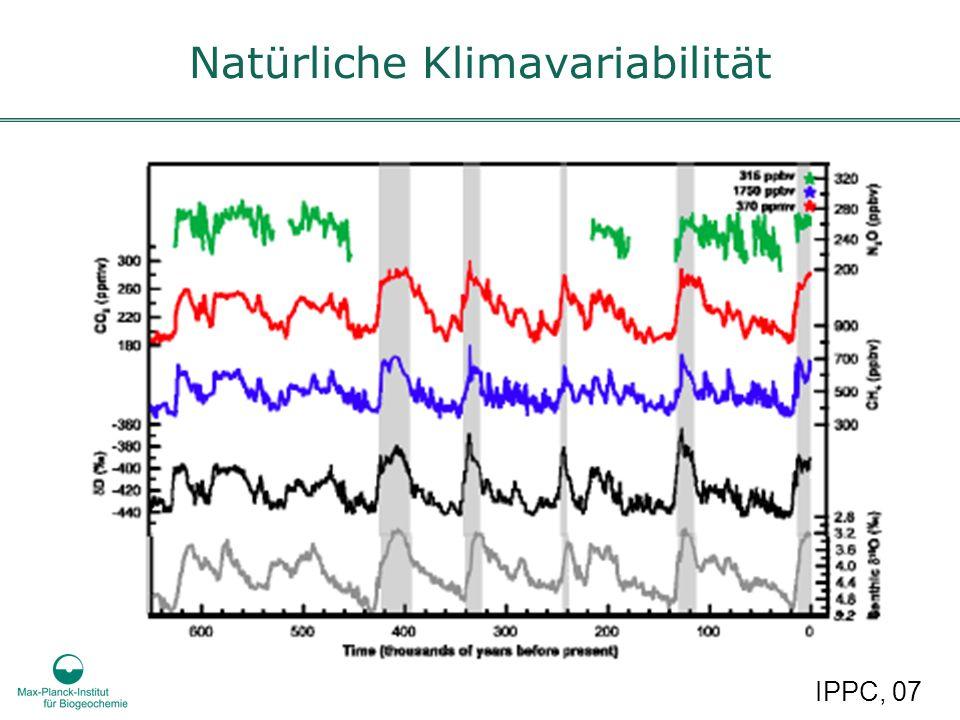 Natürliche Klimavariabilität IPPC, 07