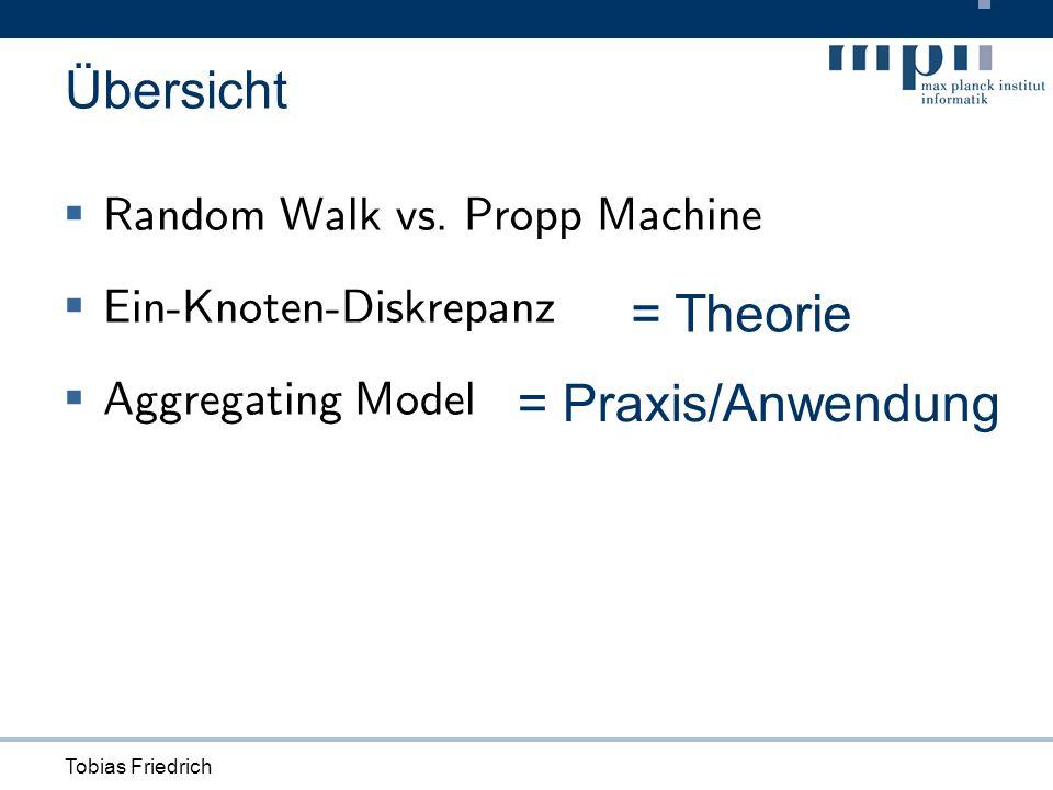 Tobias Friedrich Random Walk vs.