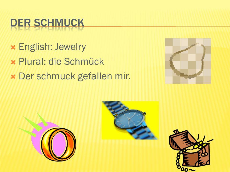 English: Sports Jacket Plural: die Sakko Das Sakko gefallen mir.