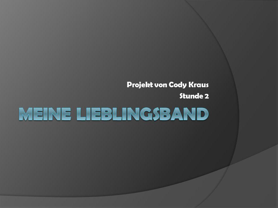 Projekt von Cody Kraus Stunde 2