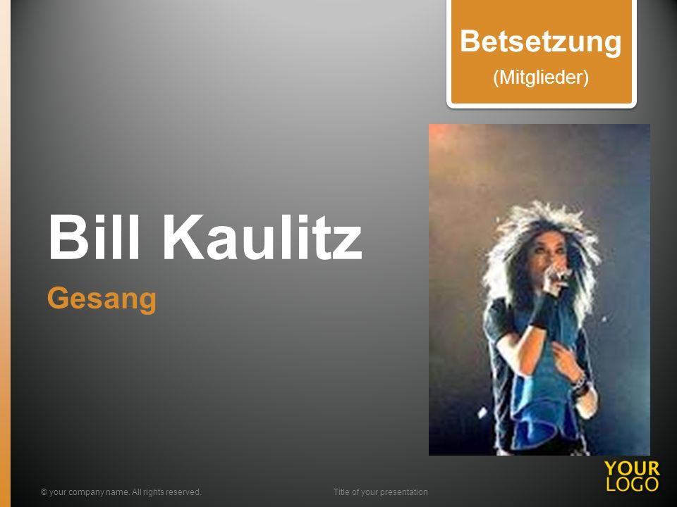 Tom Kaulitz Gitarre © your company name.