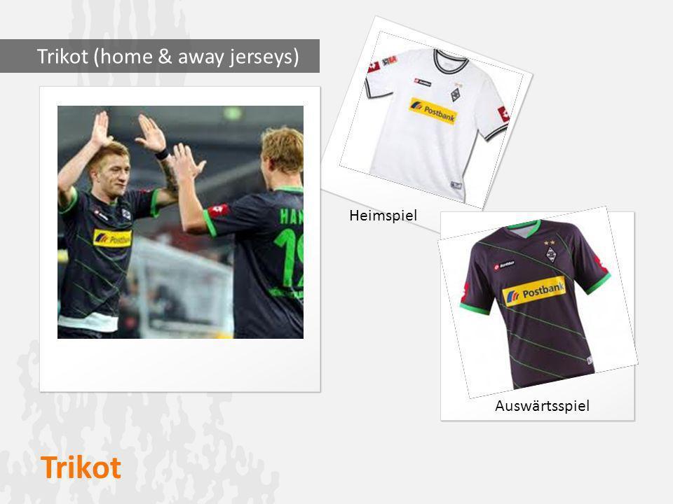 Trikot Trikot (home & away jerseys) Heimspiel Auswärtsspiel