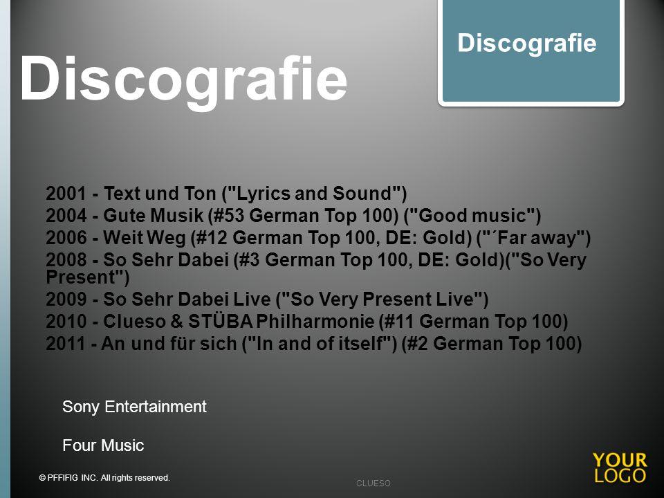 Discografie 2001 - Text und Ton (