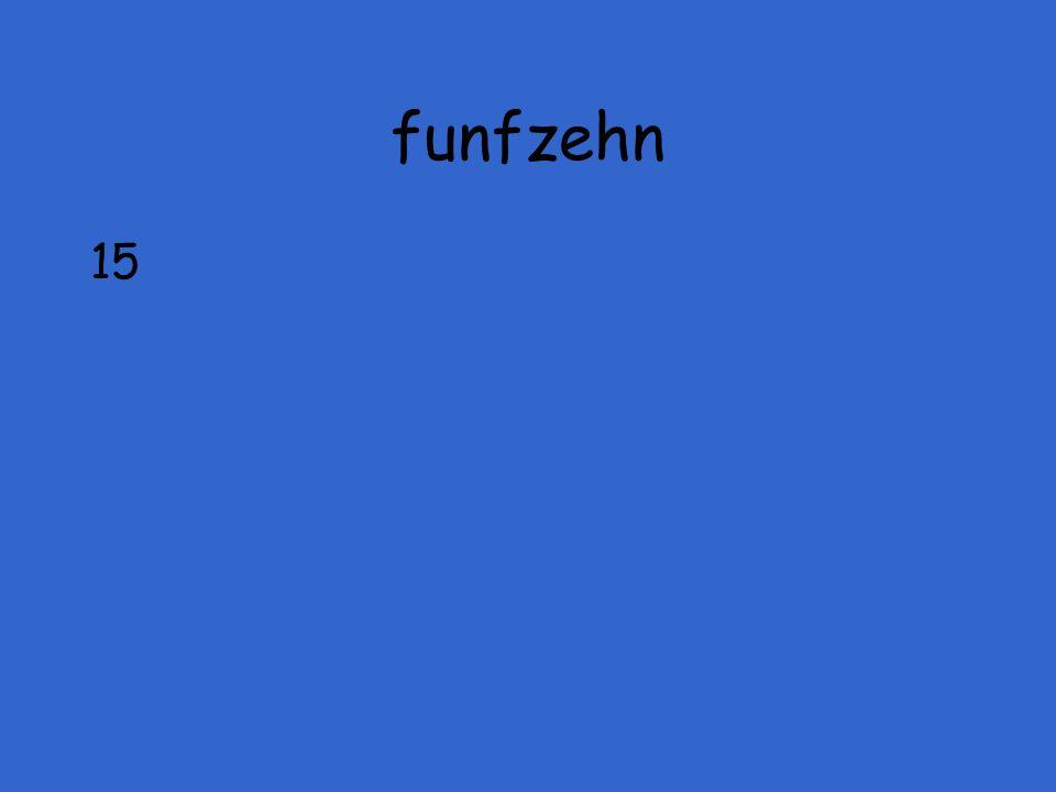funfzehn 15