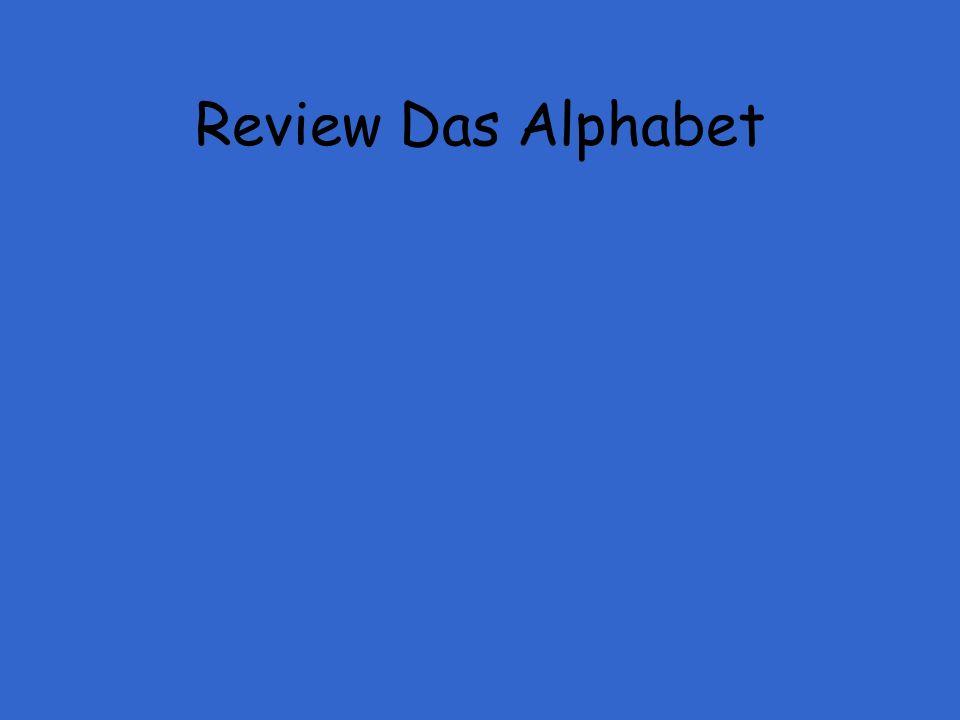Review Das Alphabet