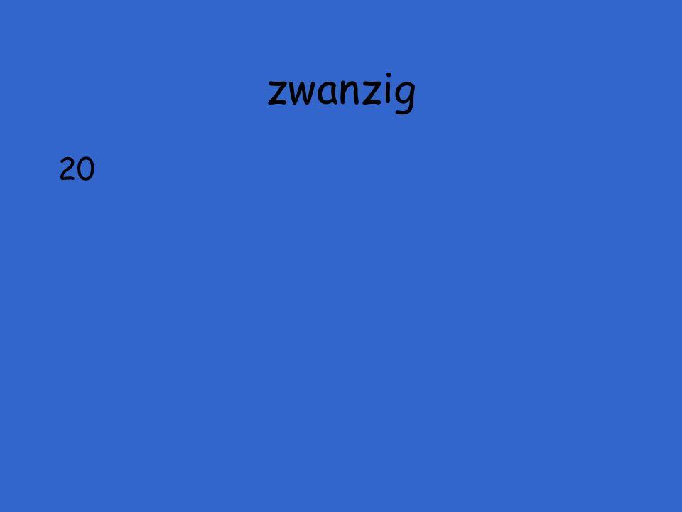 zwanzig 20