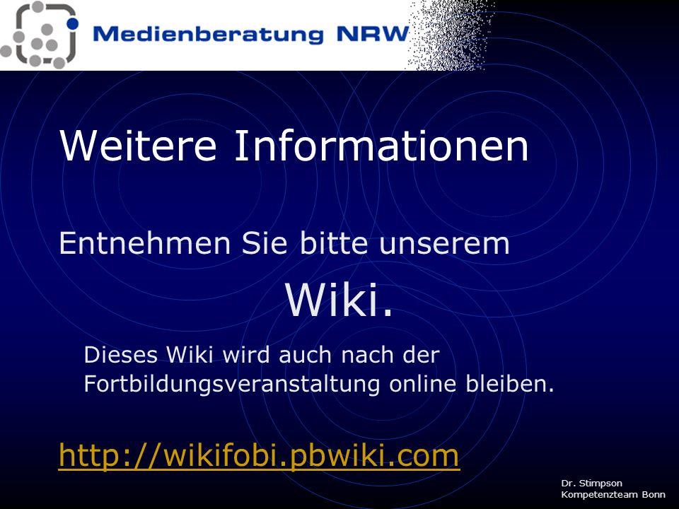 Wiki-Anbieter Integriert in eine Lernplattform, zB lo-net 2 (Lösung für gesamte Schule) Tesaccount für einzelne Klassen, zB lo-kompakt http://www.lehr