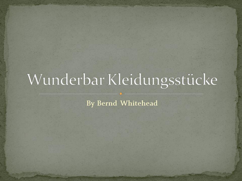 By Bernd Whitehead