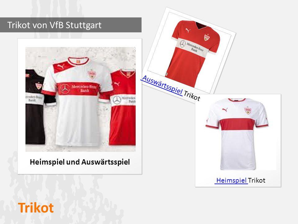 Trikot Heimspiel und Auswärtsspiel Trikot von VfB Stuttgart Auswärtsspiel Auswärtsspiel Trikot Heimspiel Trikot Heimspiel