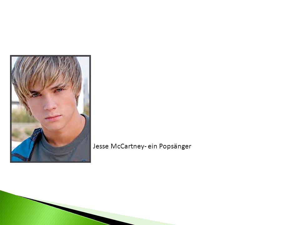 Jesse McCartney- ein Popsänger
