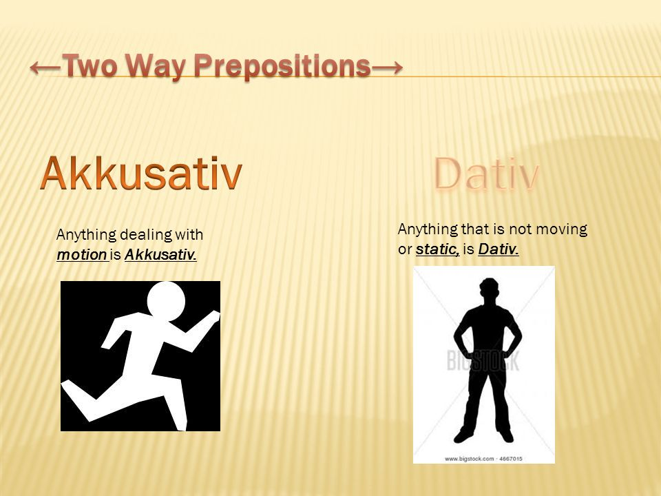 Anything dealing with motion is Akkusativ. Anything that is not moving or static, is Dativ.