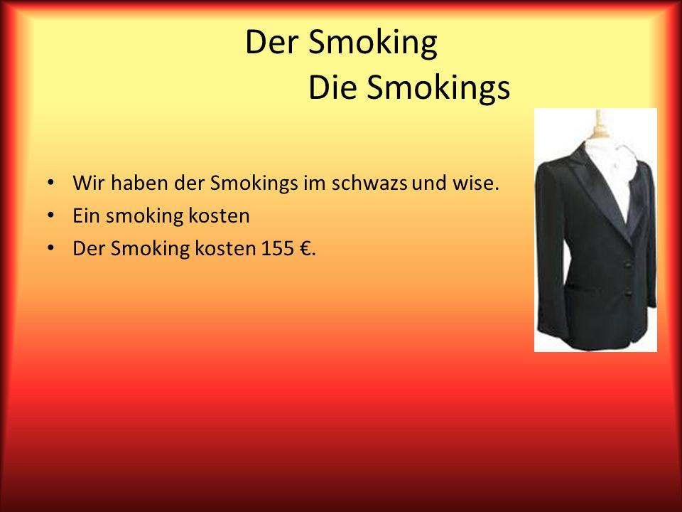 Der Smoking Die Smokings Wir haben der Smokings im schwazs und wise.