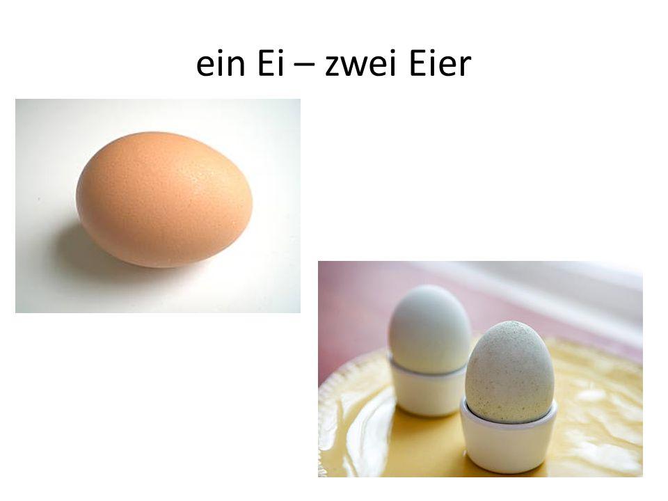 ein Ei – zwei Eier