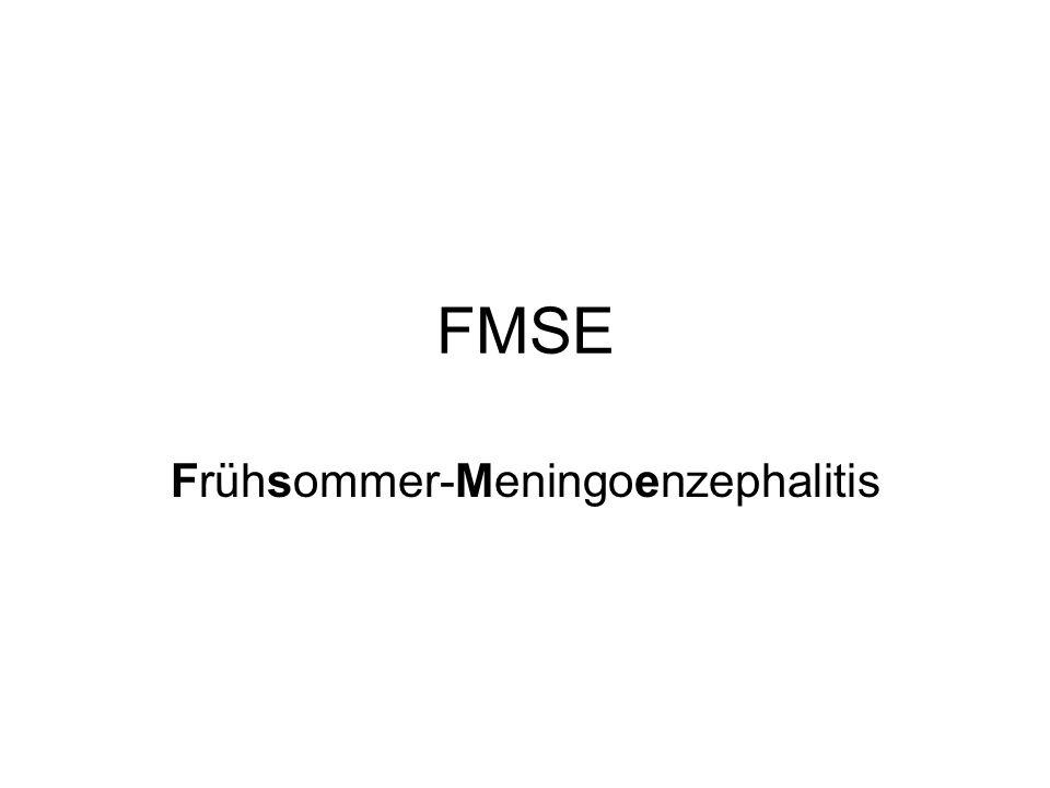 FMSE Frühsommer-Meningoenzephalitis