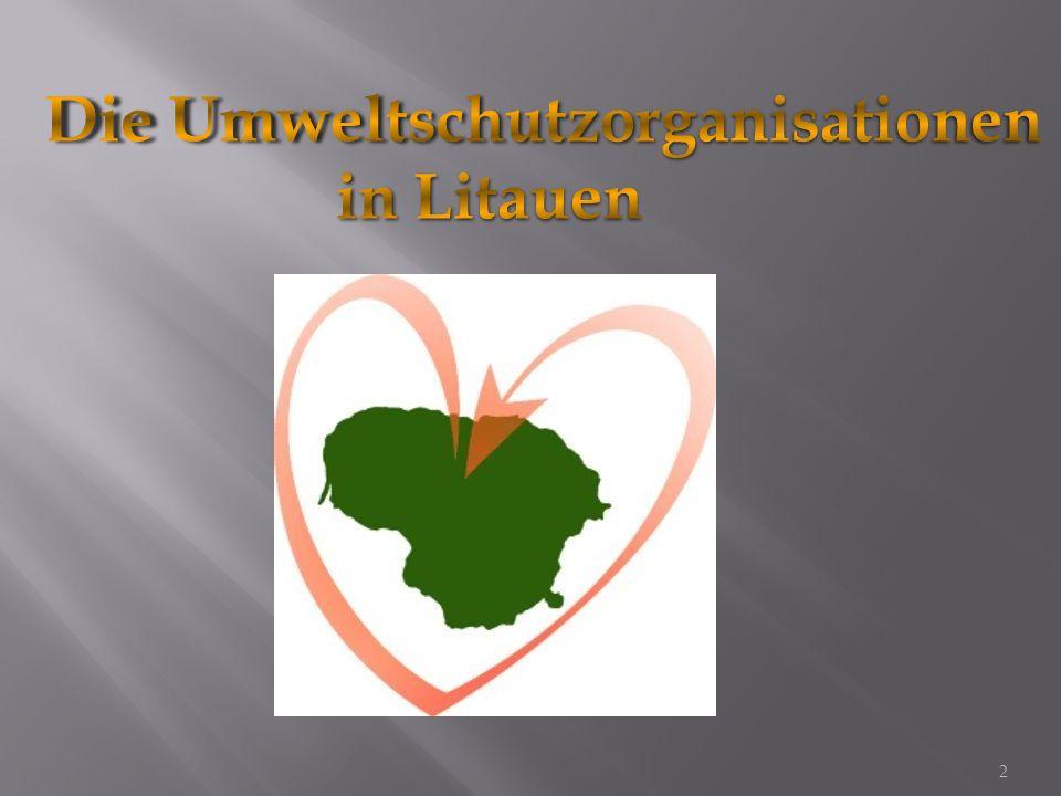 Ziel : das Umweltrecht zu verbessern und dem Menschen das Recht zu versichern in einer nicht schadenden Umwelt zu leben.