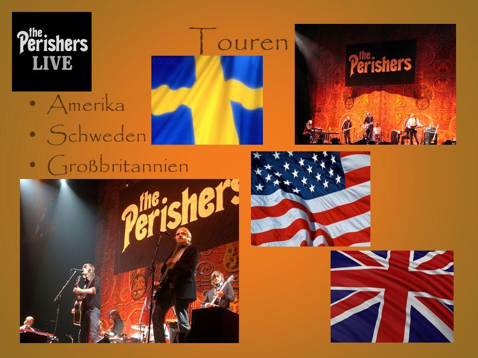 Touren Amerika Schweden Großbritannien