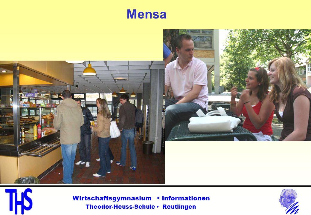 Mensa Wirtschaftsgymnasium Informationen Theodor-Heuss-Schule Reutlingen