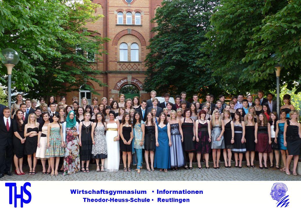 Ziel erreicht! Wirtschaftsgymnasium Informationen Theodor-Heuss-Schule Reutlingen