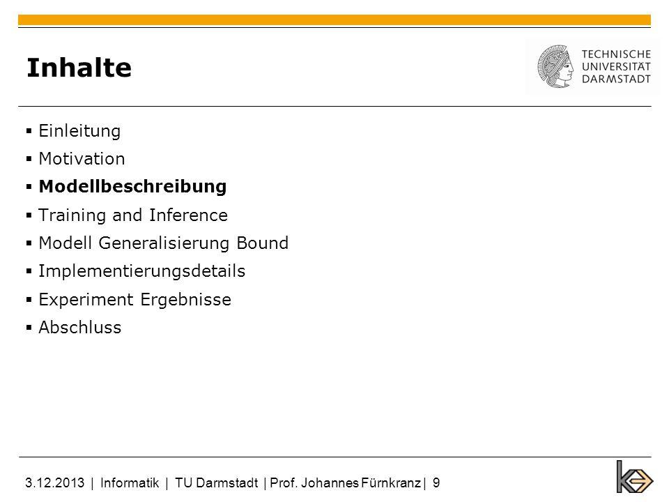7.3 CIFAR-10 3.12.2013   Informatik   TU Darmstadt   Prof. Johannes Fürnkranz   30