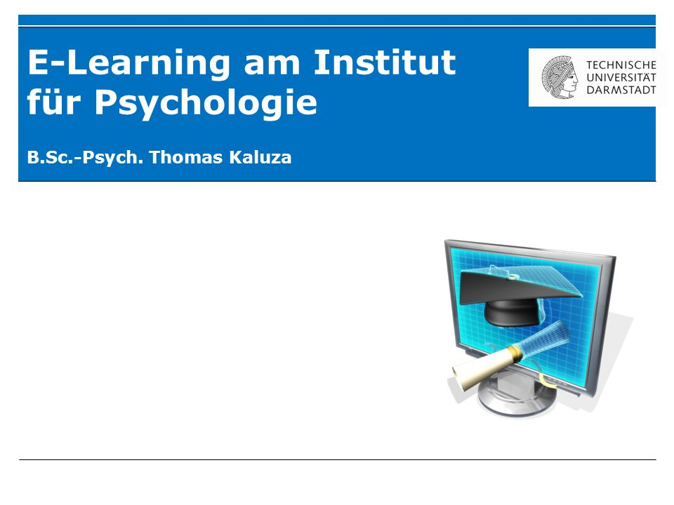 Was ist E-Learning.