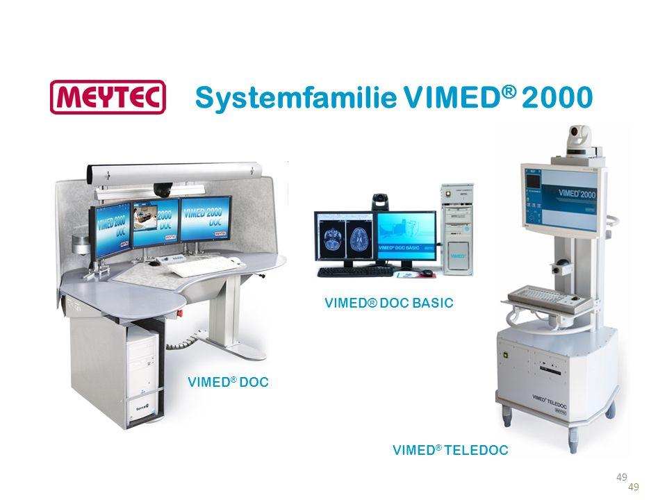 Systemfamilie VIMED ® 2000 VIMED ® DOC VIMED ® TELEDOC VIMED® DOC BASIC 49